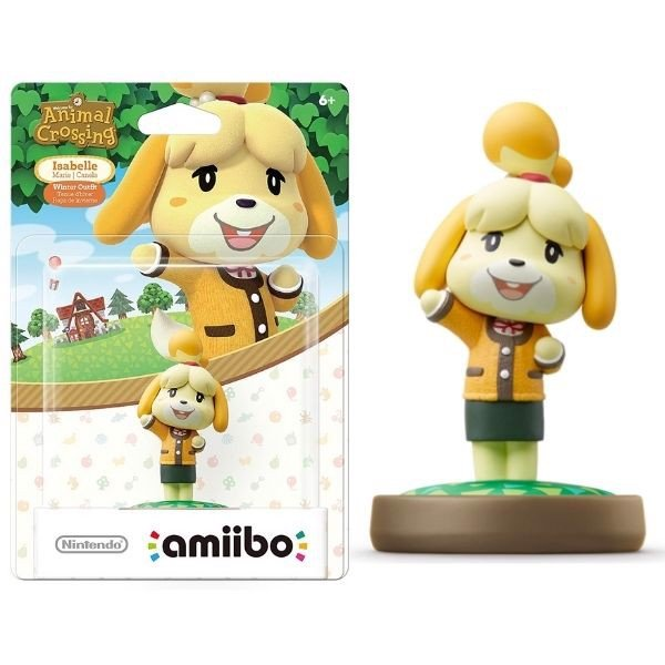 mô hình amiibo Animal Crossing Isabelle Winter Outfit cho Nintendo Switch