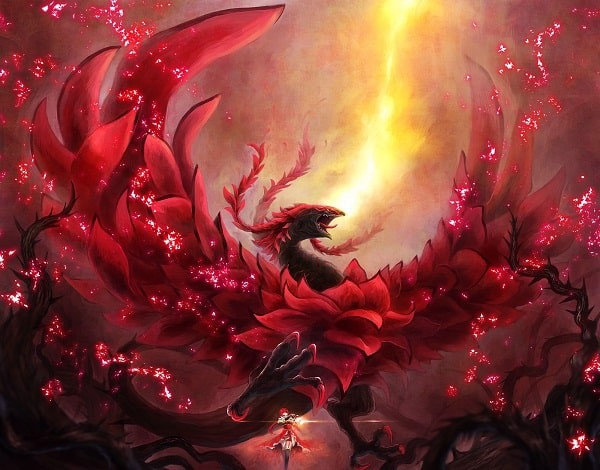 Hình yugioh hiếm rose dragon