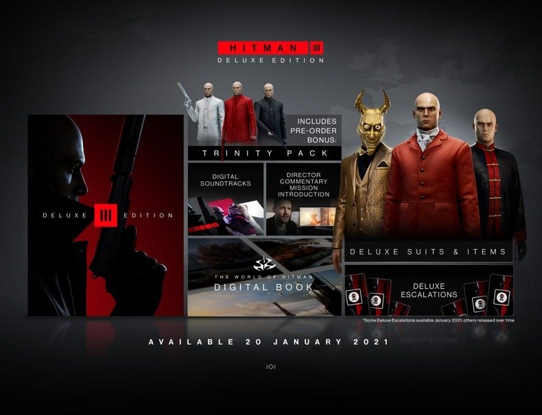 Hitman 3 game nintendo switch mới 2021