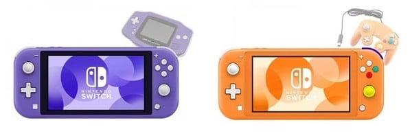 hồi tưởng gameboy Nintendo Switch Lite