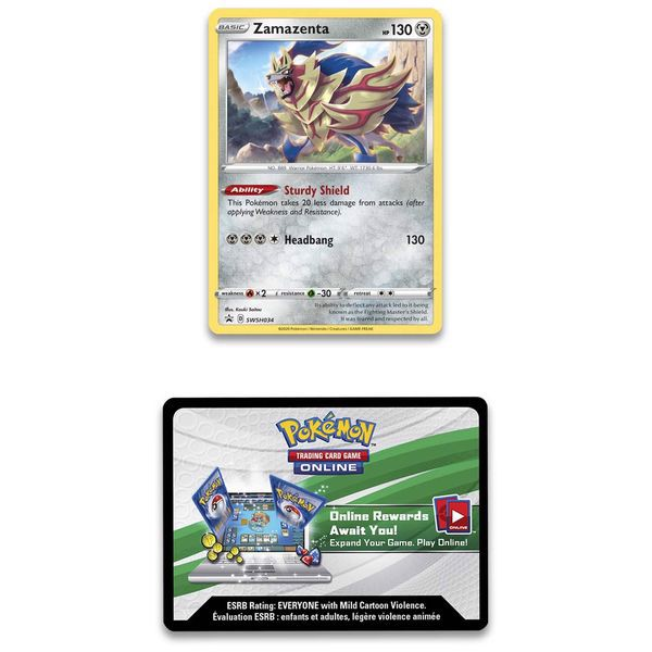 pokemon shop bán bài Pokemon True Steel Premium Collection Zamazenta ở Việt Nam