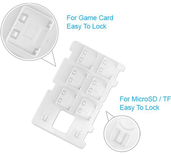 hộp đựng Nintendo Switch DOBE Game Card Expansion Card Slot