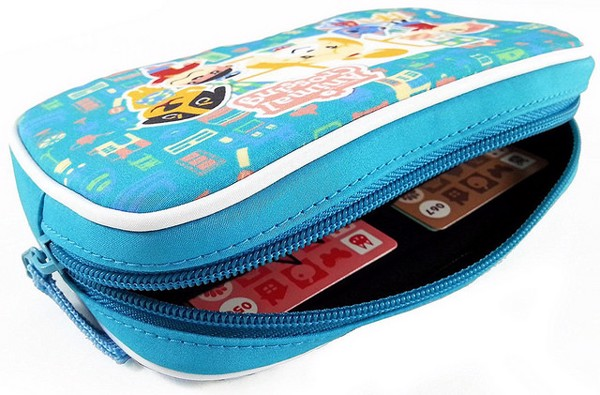 HORI ANIMAL CROSSING SOFT POUCH NEW 3DS XL