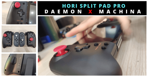 Tay cầm HORI Split Pad Pro DAEMON x MACHINA cho Nintendo Switch
