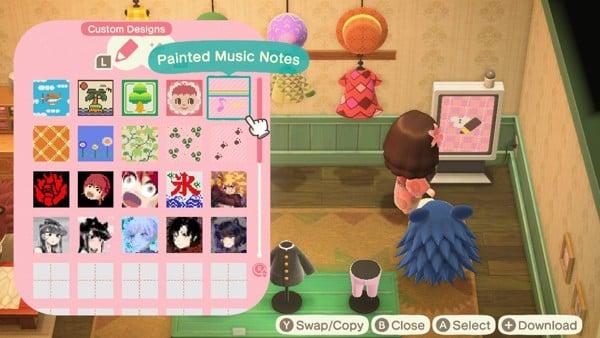 Hướng dẫn cách chơi Animal Crossing New Horizons Custom Design Portal