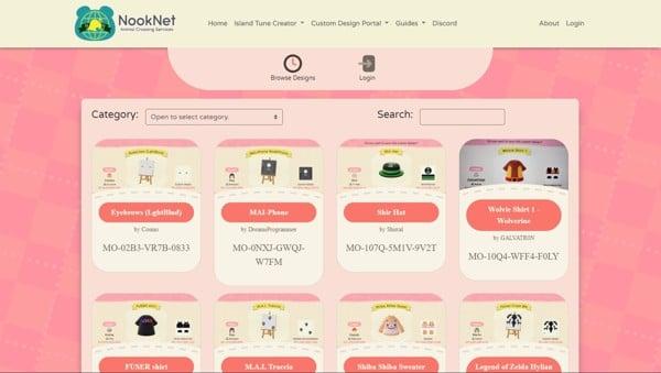 Hướng dẫn cách chơi Animal Crossing New Horizons NookNet Custom Design