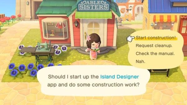 Hướng dẫn cách chơi Animal Crossing New Horizons Thiết kế lại đảo