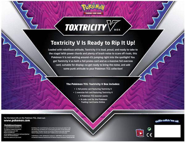 hướng dẫn chơi bài Pokemon Toxtricity V Box