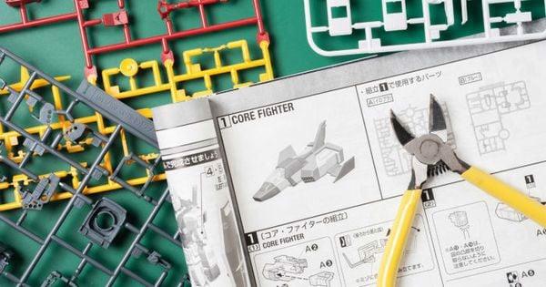 Hiểu biểu tượng - Ráp Gundam dễ như bỡn