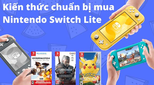 hướng dẫn mua Nintendo Switch Lite