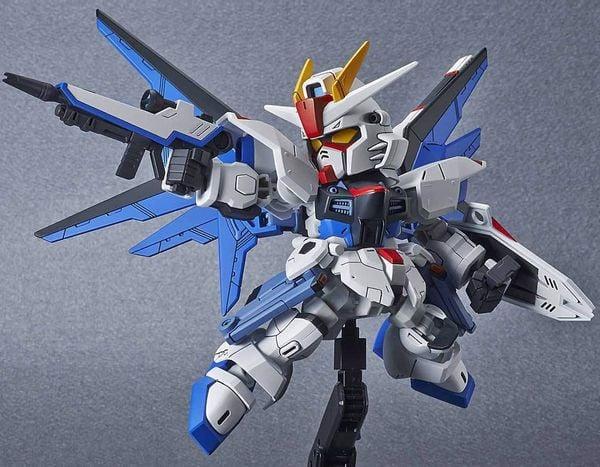 hướng dẫn ráp Freedom Gundam SD Gundam Cross Silhouette