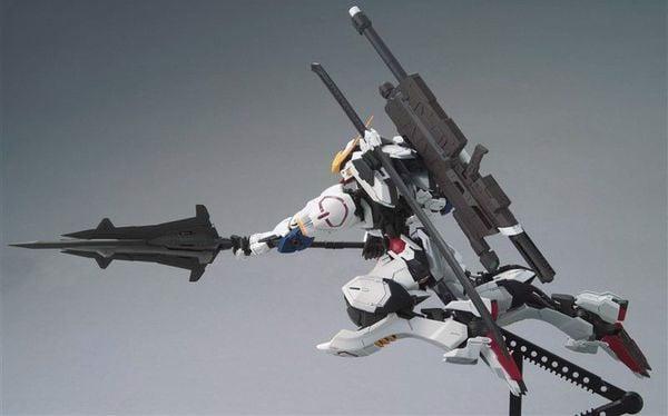 hướng dẫn ráp Gundam Barbatos MG
