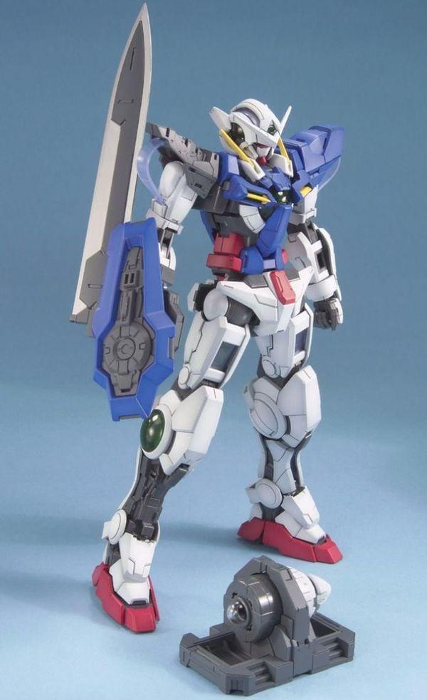 hướng dẫn ráp Gundam Exia MG