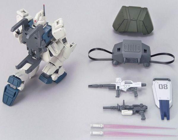 hướng dẫn ráp Gundam Ez8 HGUC