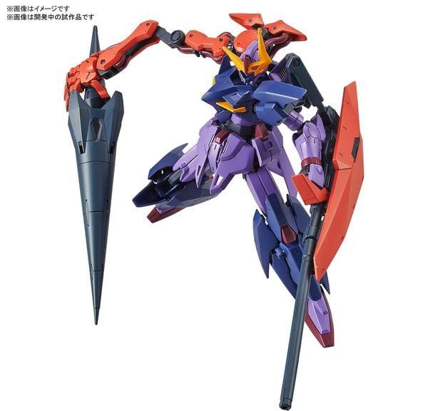 hướng dẫn ráp Gundam Seltsam HGBDR gunpla