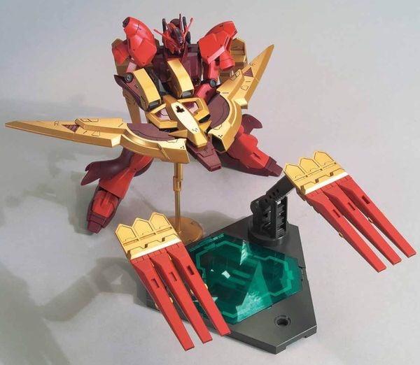 hướng dẫn ráp Nu-Zeon Gundam HGBD:R