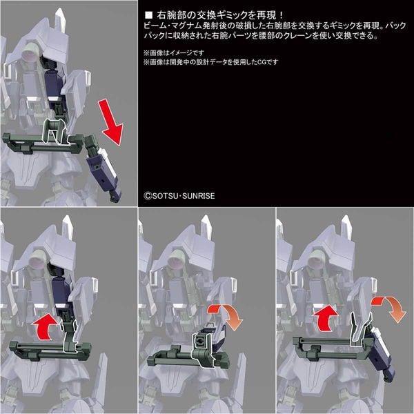 hướng dẫn ráp Silver Bullet Suppressor HGUC gundam
