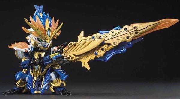 hướng dẫn ráp Sun Ce Gundam Astray SD sangoku