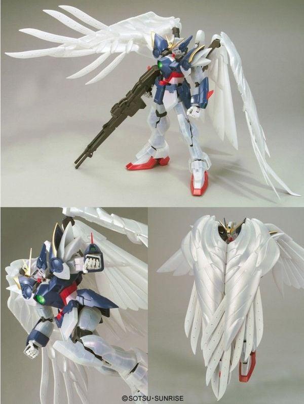 hướng dẫn ráp Wing Gundam Zero Custom Special Pearl Coating PG gunpla