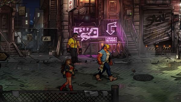 hướng dẫn Streets of Rage 4 Nintendo Switch