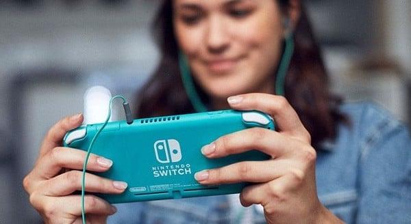 hướng dẫn sử dụng Nintendo Switch Lite