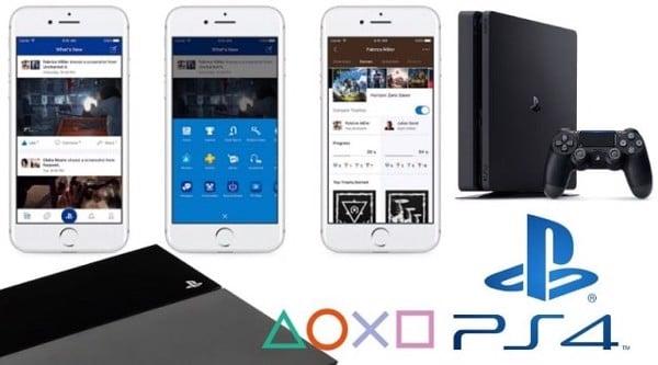 hướng dẫn sử dụng ps4 Playstation App