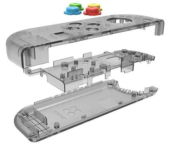 hướng dẫn thay vỏ Joy con Nintendo Switch clear shell