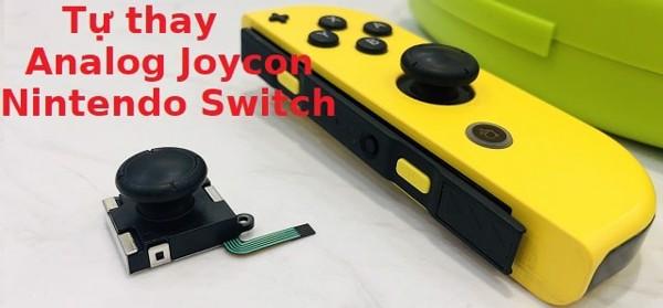 hướng dẫn thay analog joy-con tự sửa Nintendo Switch