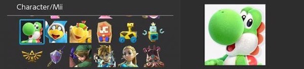 icon mới trên Nintendo Switch