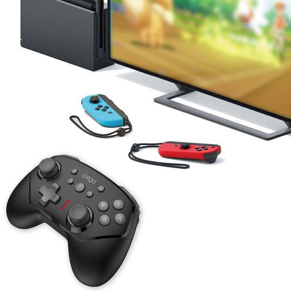 phụ kiện Tay ipega Pro Wireless Controller Nintendo Switch Black chính hãng