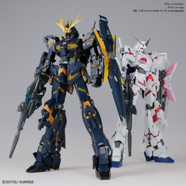 Bản thiết kế mô hình Gundam RX-0 Unicorn Gundam 02 Banshee chính hãng Bandai