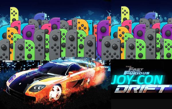 Joycon drift nintendo switch lite