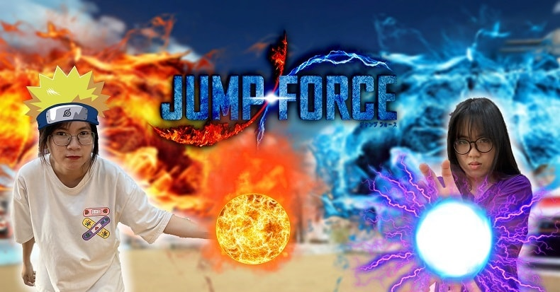 jump force nintendo switch ps4 vlog nshop