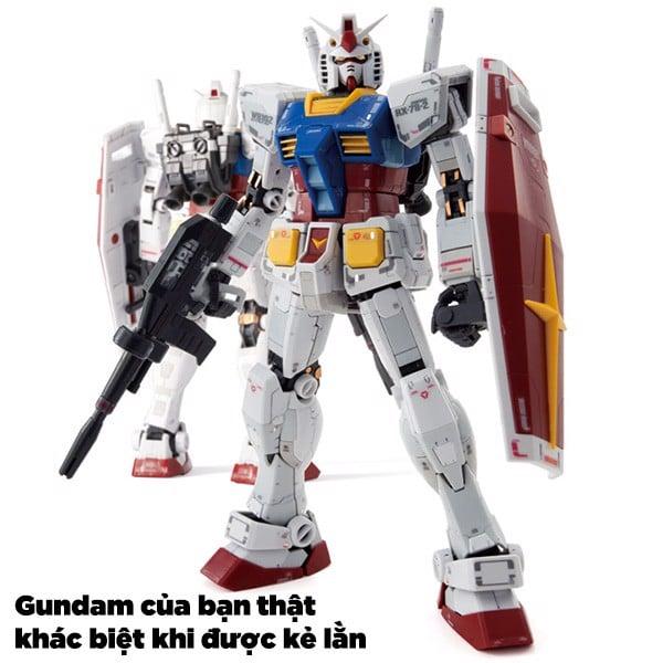 kẻ lằn chìm Gundam siêu đẹp