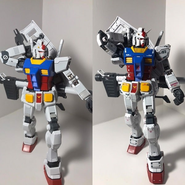 Kẻ lằn chìm Gundam bằng Gundam Marker