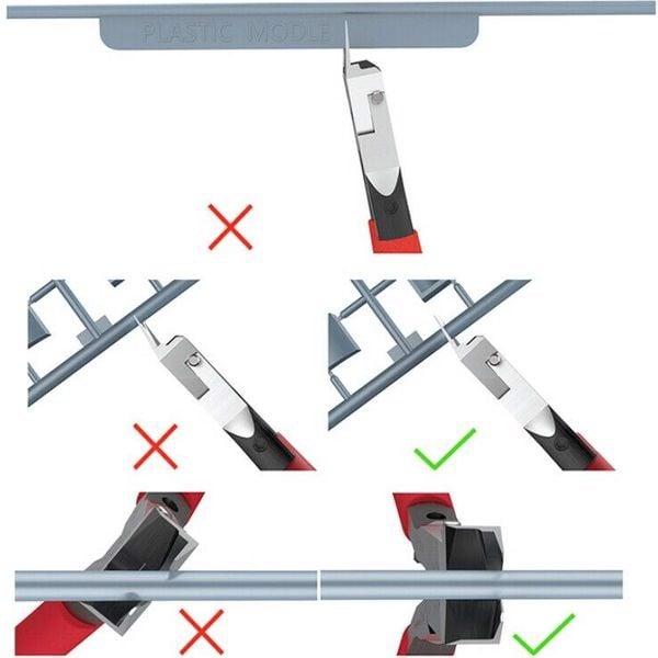 cách dùng Kềm cắt Gundam cao cấp DSPIAE + dầu bảo dưỡng (Single Blade Nipper ST-A 3.0)