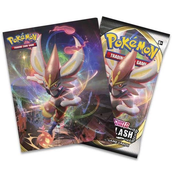 shop pokemon bán Mini album booster pack bài Pokemon Sword Shield rebel clash
