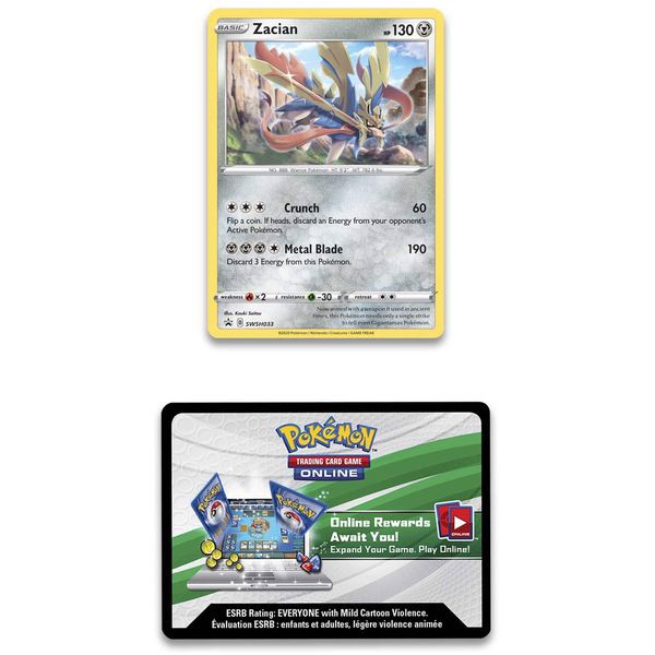 pokemon shop bán bài Pokemon True Steel Premium Collection Zacian giá rẻ