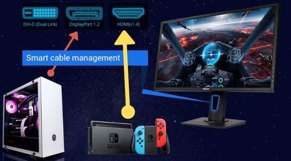 kết nối máy game nintendo switch với màn hình