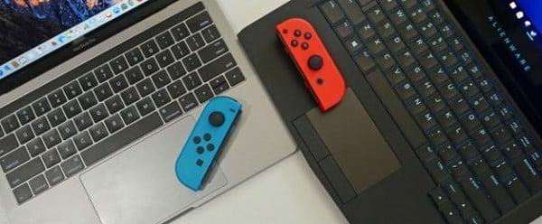 làm sao kết nối Nintendo Switch với màn hình Laptop