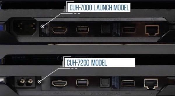 khác biệt ps4 pro 7200