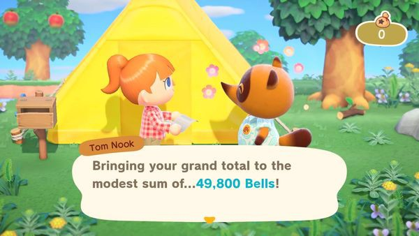 kiếm tiền trong game animal crossing