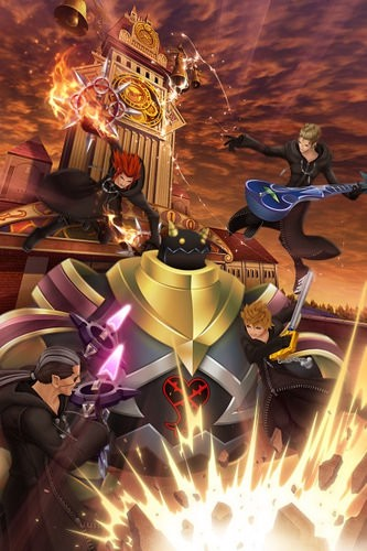 KINGDOM HEARTS 3582 DAYS vietnam