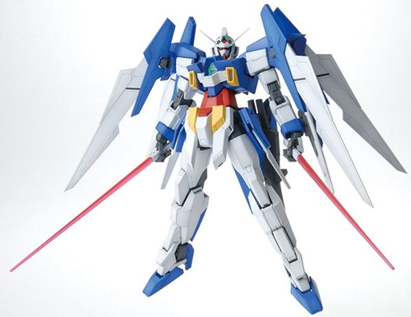 lắp ráp Gundam AGE-2 Normal MG