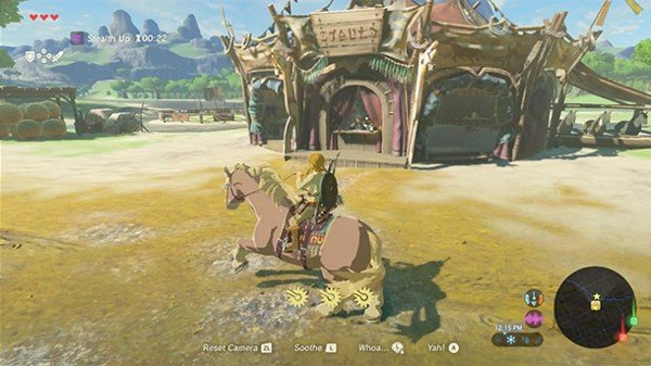 legend of zelda breath of the wild nshop