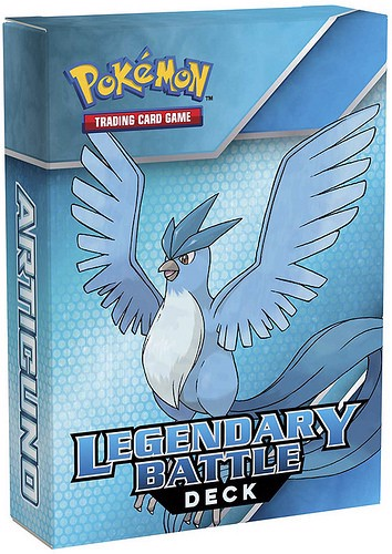 LEGENDARY BATTLE DECK  ARTICUNO POKEMON TRADING CARD GAME