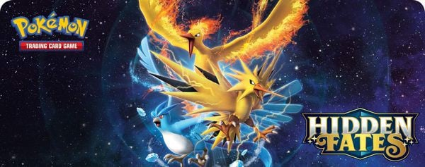 Legendary Bird Pokemon TCG Hidden Fates