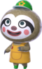 Leif trong Animal Crossing New Horizons