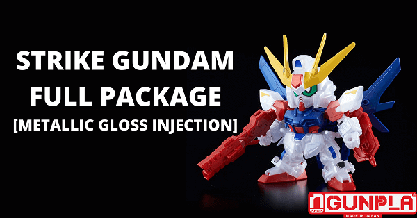 Mua mô hình Gundam limited BB BUILD STRIKE GUNDAM FULL PACKAGE [METALLIC GLOSS INJECTION] chính hãng Bandai