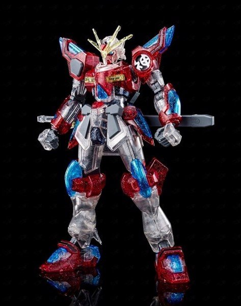 Limited Gundam KAMIKI BURNING GUNDAM PP CLEAR Ver